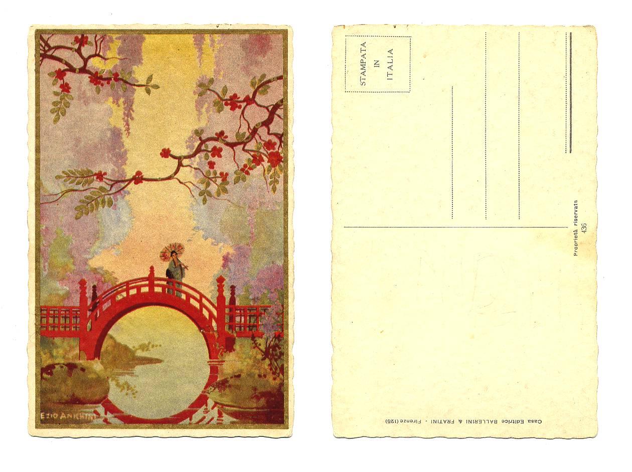 Recently Sold Items Listing Art Deco Artist Anichini JAPAN