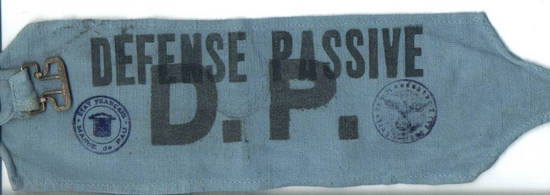 WWII NAZI Germany in France MP sleeve patch 1