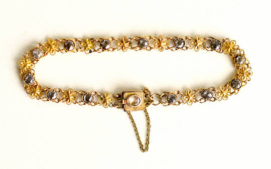 Antique Renaissance Georgian Diamond Bracelet