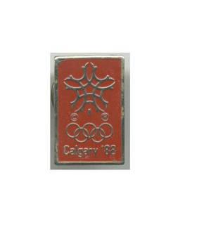1988 Calgary NOC winter Olympic pin N2 NICE