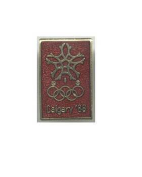 1988 Calgary NOC winter Olympic pin N1 NICE