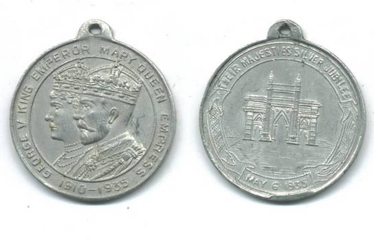 1935 England Britain 25yr wedding AL medal !!