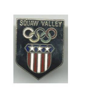 1979 US Squaw Valley Winter Olympic bid pin 1