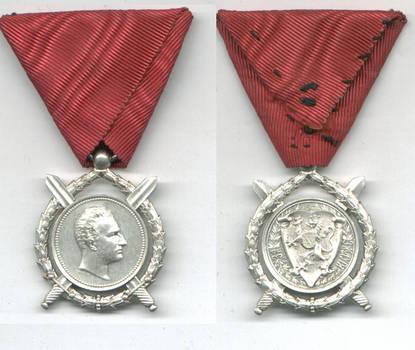 1887 Bulgaria Royal Ferdinand Merit order N6