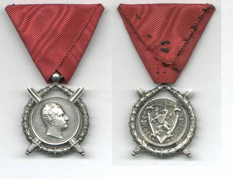 1887 Bulgaria Royal Ferdinand Merit order N5