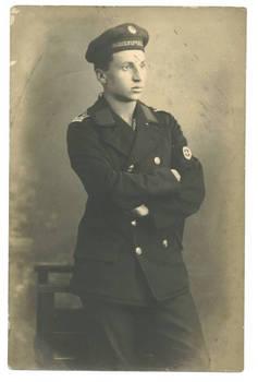 WWI Bulgaria Seaplane aviation uniform photo
