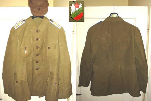 WWII Bulgaria Royal REGENCY Colonel uniform !
