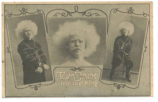 1910 CIRCUS clown Acrobat photo postcard N1