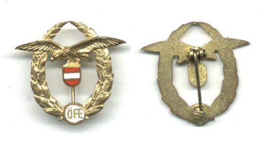 Austria Army pilot CLUB aviation badge GREAT