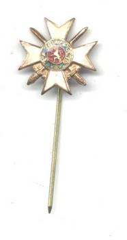 WWI Bulgaria Royal Bravery order 3C 2G mini R