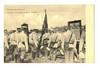 1900 Bulgaria Royal Army banner oath postcard