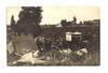 1912 France Pilot Farmer crash photo postcard