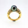 Mauboussin Nadja Tahitian Pearl Diamond Ring