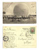 1909 Bulgaria Royal BALLOON Gas unit postcard