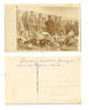 WWI shot airplane dead pilot corps postcard R