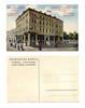 1910 Bulgaria CONTINENTAL Hotel ad postcard R