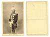 WWI Serbia Royal King Petar uniform postcard
