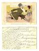WWI Russia anti Germany propaganda postcard R
