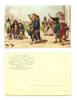 1910 France Pig King & Apes comic postcard RR