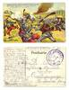 WWI Germany anti French muslims postcard RARE