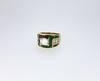 ADLER Diamond Emerald Sapphire Meander Ring