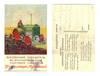 1920 Russia TRACTOR propaganda postcard NICE
