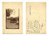 WWI Bulgaria enemy air raid photo postcard RR