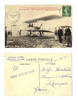 1909 France FARMAN 1st flight photo postcard
