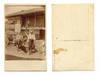 1910 Bulgaria peasent & cow ethnic postcard R