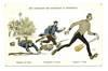 WWI Germany vs. England propaganda postcard R