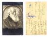 WWI Bulgaria Bauer / Charles Darwin postcard