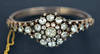 Antique Georgian Diamond Bangle Bracelet RARE