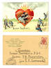 1905 Russia Firefighter comic fool postcard R