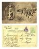 WWI Serbia Royal King Peter & Army postcard !