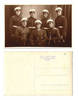 1930 Bulgaria Pilot cadets photo postcard RRR