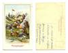 1900 Bulgaria Army rest patriotic postcard !