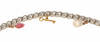 Conch Saltwater Pearl Diamond Charm Bracelet