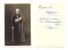 1925 Belgium Cardinal Mercier signed postcard