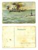 WWI Austria vs. Italy U-Boat torpedo postcard